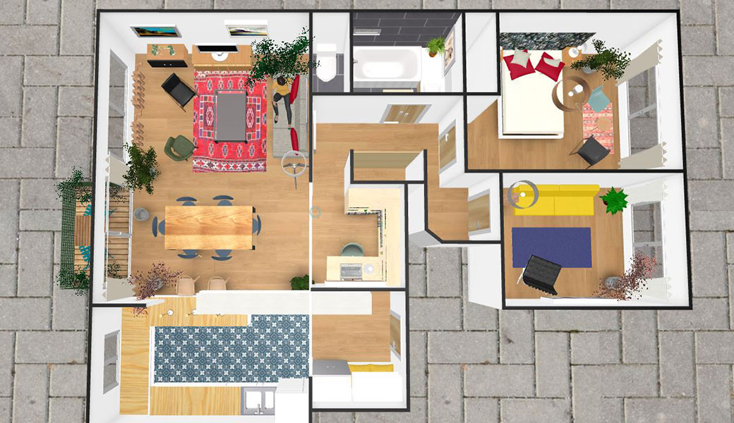 Plan de maison 3d en ligne gratuit gallery of fabulous for Decoration maison 3d gratuit en ligne