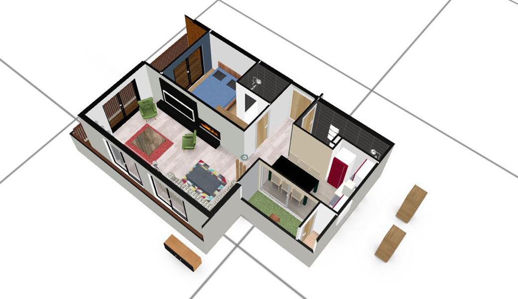 faire un plan d appartement en ligne Galerie de plans